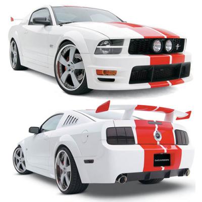 3dCarbon Kit Boy-Racer 11 pièces Mustang 2005-2009 GT V6