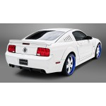 3dCarbon Window louver Mustang 2005-2009