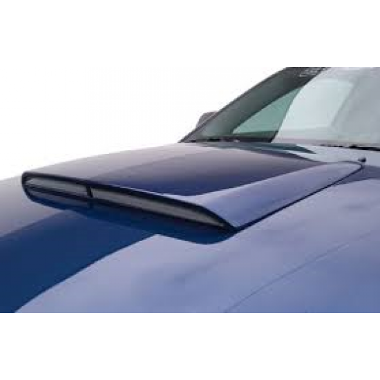 3d Carbon Scoop de Capot 23'' 2005-2014 Mustang GT/V6/Bullitt