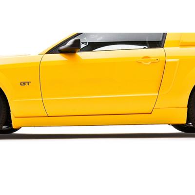 3dCarbon Jupe de côté Style GT Mustang 2005-2009 GT V6 GT500