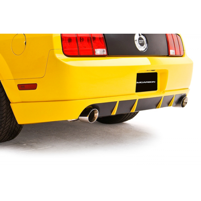 3dCarbon Rear Valance Mustang GT 2005-2009