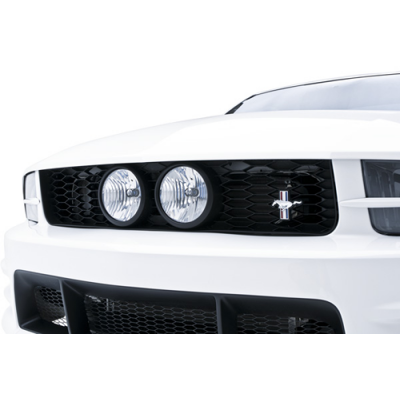 3d Carbon Center Fog Light Grille 2005-2009 Mustang GT