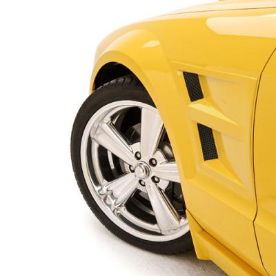 3dCarbon Front fender vents Mustang 2005-2009 GT V6 GT500