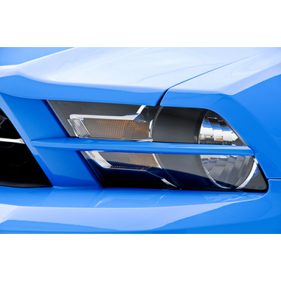3dCarbon Headlight splitters Mustang 2010-2012 V6