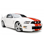 3dCarbon Side skirts Mustang 2010-2012