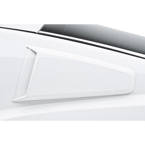 3dCarbon Scoop vitre de côté type 2 Mustang 2010-2014