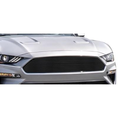 1-APS Black Billet Stainless Upper Grille 2018-2020 Mustang GT