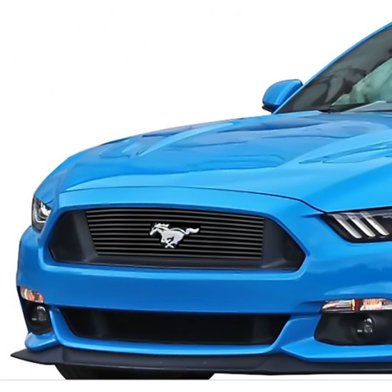 APS Grille du haut Stainless Noir 2015-2017 Mustang GT