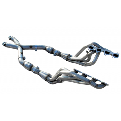 ARH Header 1.3/4'' x 2.5'' X-pipe with cats Mustang 1999-2004 Cobra 4.6L