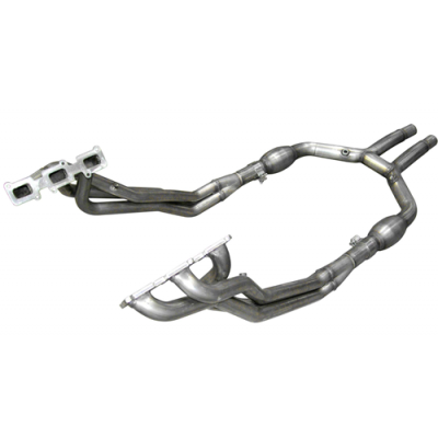 ARH Header 1.3/4'' x 2.5'' H-pipe with cats Mustang 2011-2014 V6 3.7L