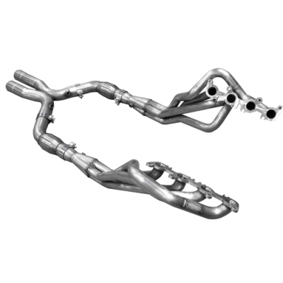 ARH Header 1.3/4'' no cats bottle-neck eliminator 3'' Mustang 2015 5L