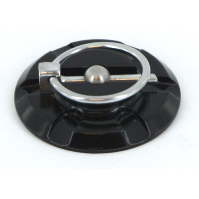 Pin de Capot en Billet Aluminium Noir