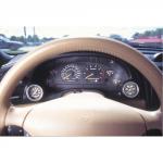 Autometer Dual gauge cluster  bezel Mustang 1994-2000
