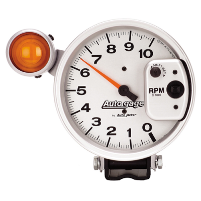 Autometer Silver shift-lite auto gage
