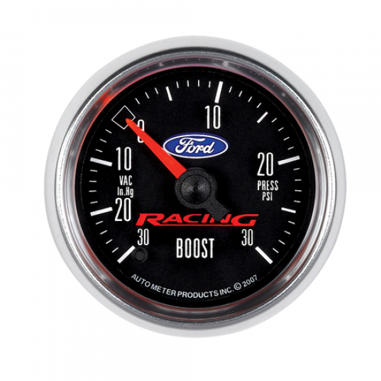 Autometer Cadran boost vacuum Ford racing