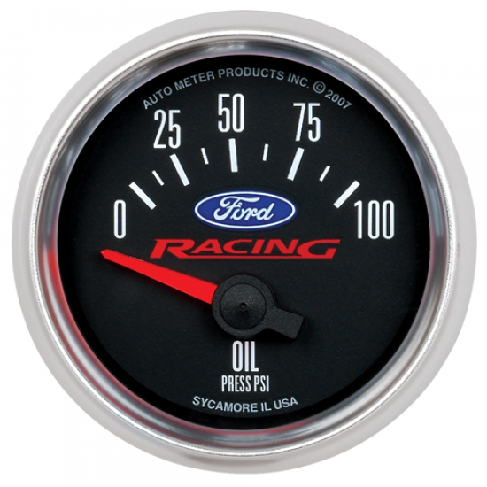Autometer Cadran pression huile Ford Racing