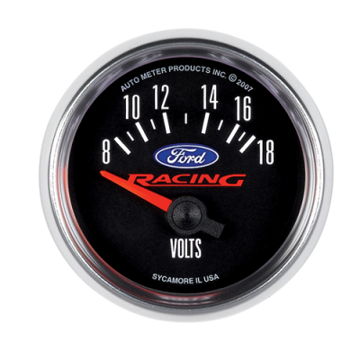 Autometer Voltmeter gauge Ford Racing