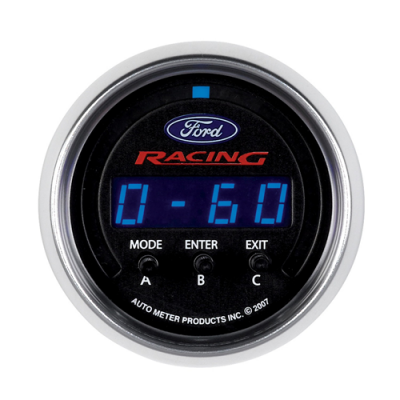 Autometer Acceleration gauge D-Pic Ford Racing