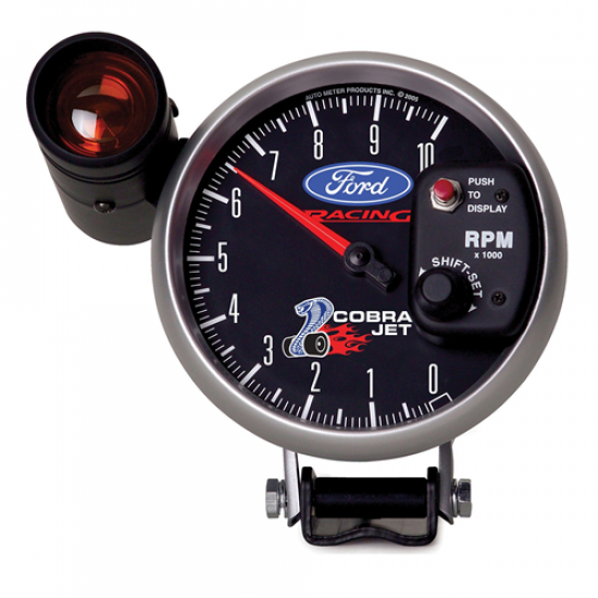 Autometer Tach shift-lite Cobra Jet Ford Racing