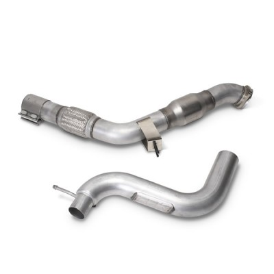 BBK 3'' High Performance Downpipe with Catalytic Convertor 2015-2020 Mustang EcoBoost