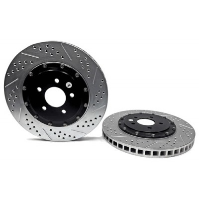 Baer 14''  2 piece FRont Rotors 2007-2012 Shelby GT500 + 2011-2014 Mustang GT with Brembo