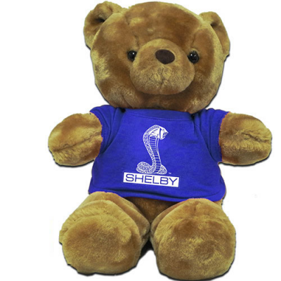 BRC Teddy Bear 14'' bleu Shelby Cobra