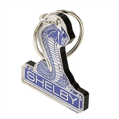 BRC Shelby Cobra emblem full color acrylic key chain BDSHKC112