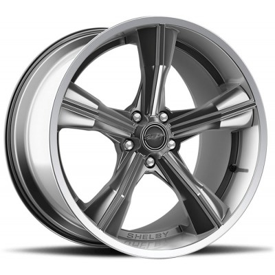 Carroll Shelby Wheel CS-11 Gloss Silver 20'' x 11'' 2005-2019 Mustang GT/V6/EcoBoost + 2007-2014 GT500 rear