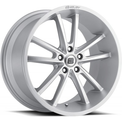 Carroll Shelby CS-2 Wheel Gloss Silver 20'' x 11'' 2005-2019 Mustang GT/V6/EcoBoost + 2007-2014 GT500 rear