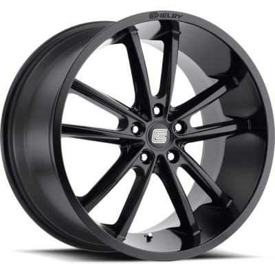 Carroll Shelby Wheel CS-2 Gloss Black  20'' x 9'' 2005-2019 Mustang GT/V6/EcoBoost + 2007-2014 GT500 front + rear
