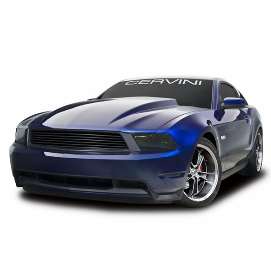 Cervinis Capot Cowl 3'' Mustang GT/V6 2010-2012