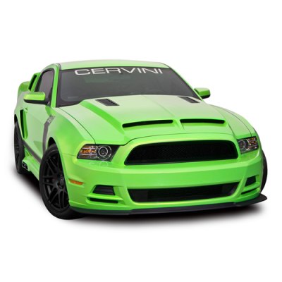 Cervinis Hood Ram Air type 4 Mustang 2013-2014 GT V6