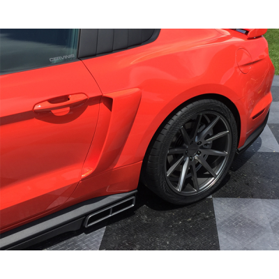 Cervinis Scoop de Côté 2015-2019 Mustang Coupé + Décapotable