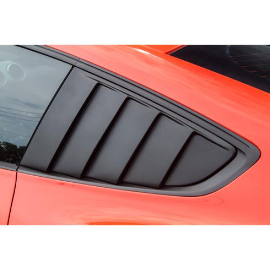 Cervinis Quarter Window Louvers Mustang 2015 2017 C4447
