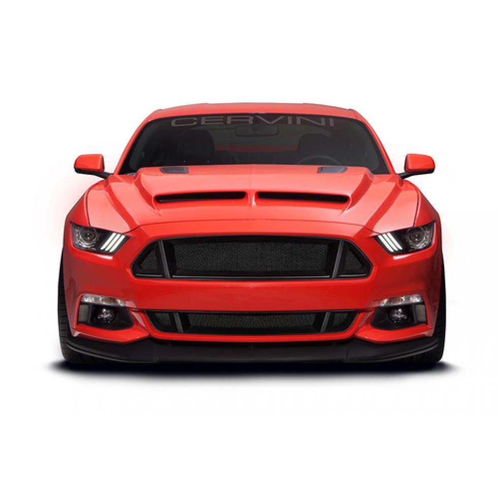 Cervinis C Series Upper Lower Grille Kit Mustang 2015 2016
