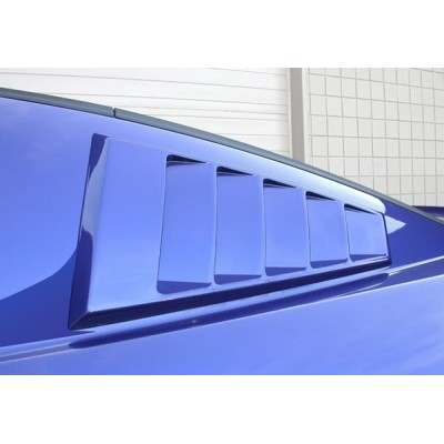 Classic Designs side window Louvers 2005-2014 Mustang hardtop
