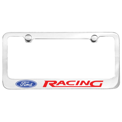 EA Contour de plaque chromé Ford racing