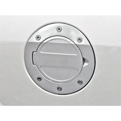 Drake Billet Aluminum Fuel Door Satin 2005-2009 Mustang