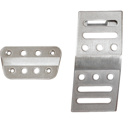 Drake Billet Aluminum Pedal Covers 2005-2014 Mustang Automatic