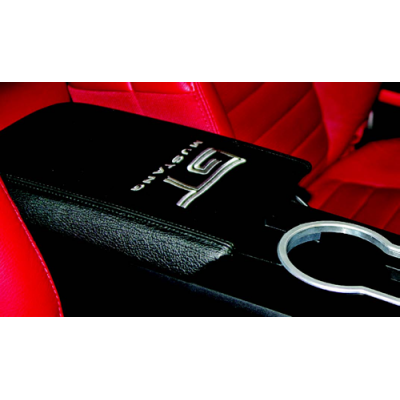 Drake Arm Rest Cover with GT logo 2005-2009 Mustang