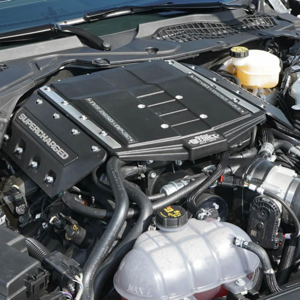 Ford Mustang Edelbrock Supercharger: Edelbrock-eforce-supercharger-mustang-gt-2018-2019-tvs