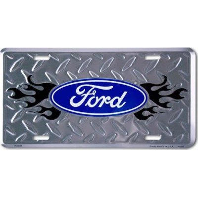 GE Plaque Logo FORD 12'' x 6''