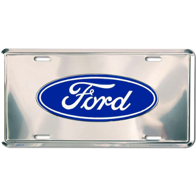 GE Plaque avant logo Ford