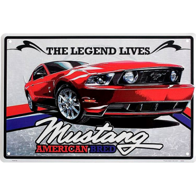 Mustang Legend large parking sign
