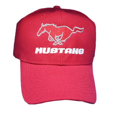 Casquette Mustang Rouge