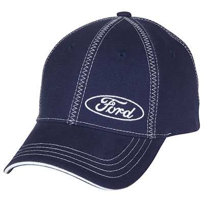 Ford Collection Casquette Ford avec broderies en zigzag
