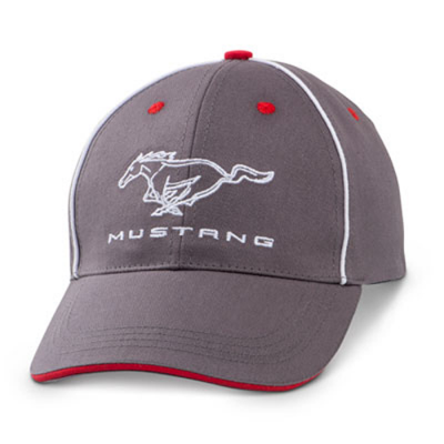 Ford Collection Casquette Mustang gris