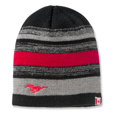 Toque Mustang Black Grey + Red