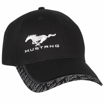 Ford Collection Casquette noir Mustang