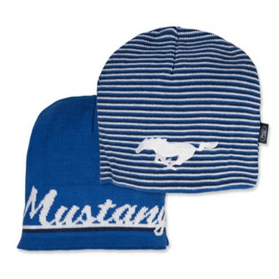 FC Tuque Reversible Mustang Bleu/Blanc